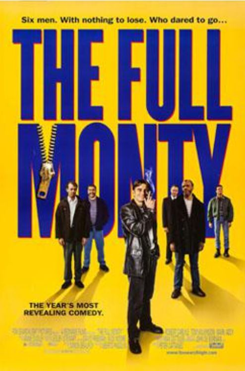 The Full Monty movie cover