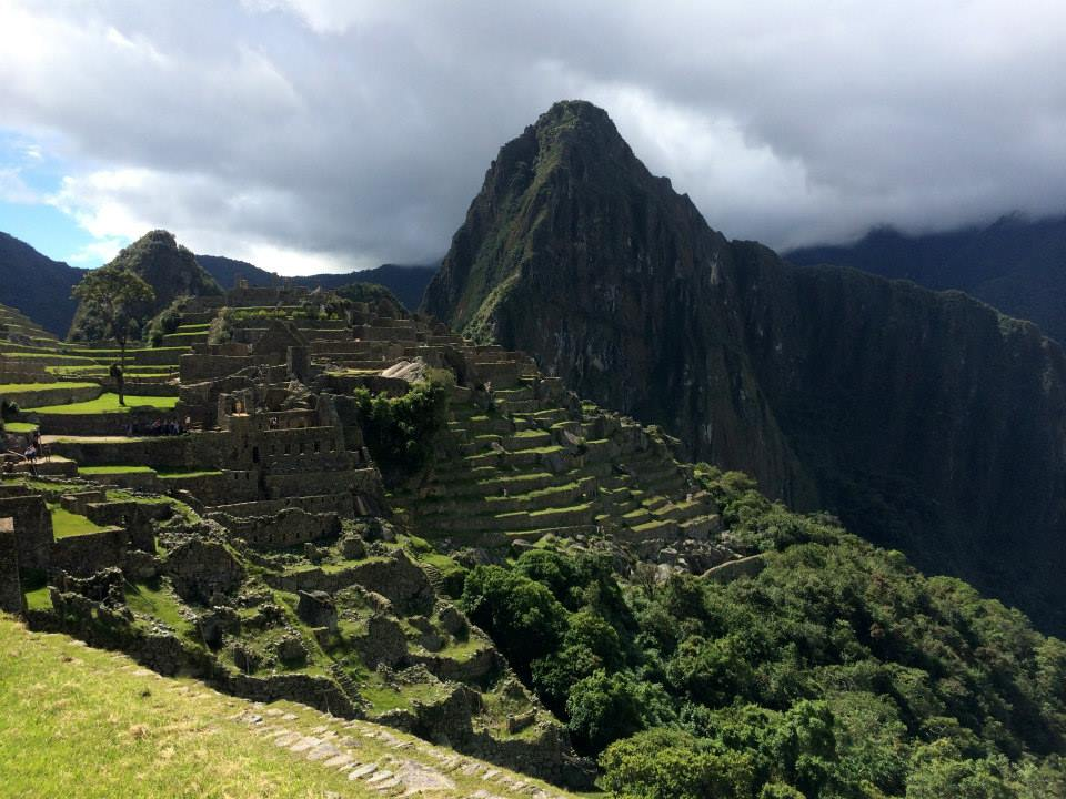 Overlook of Machi Picchu