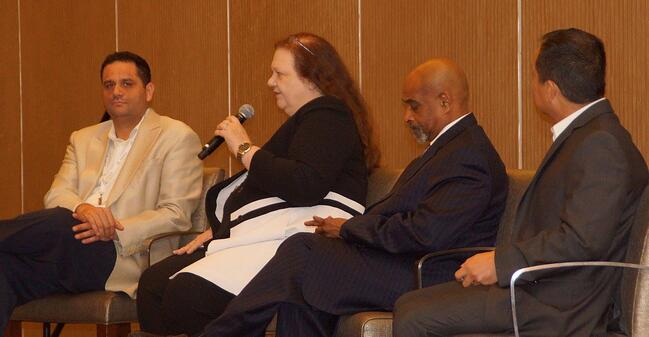 panel at GNEMSDC conference