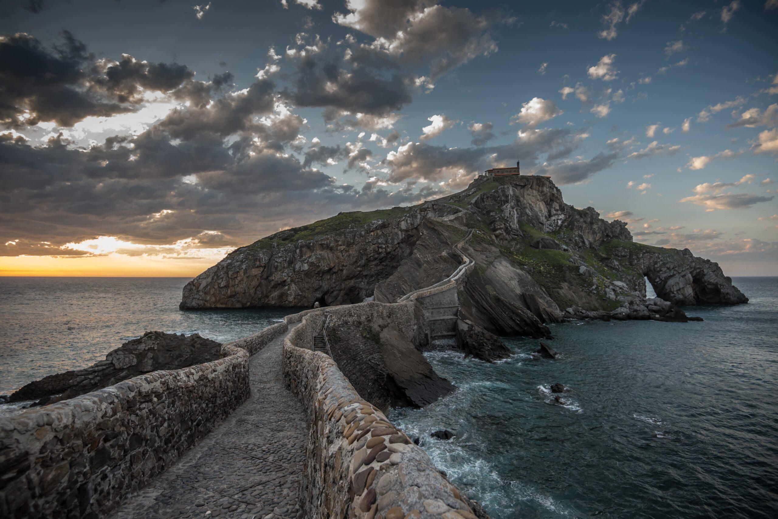 Castle on the ocean