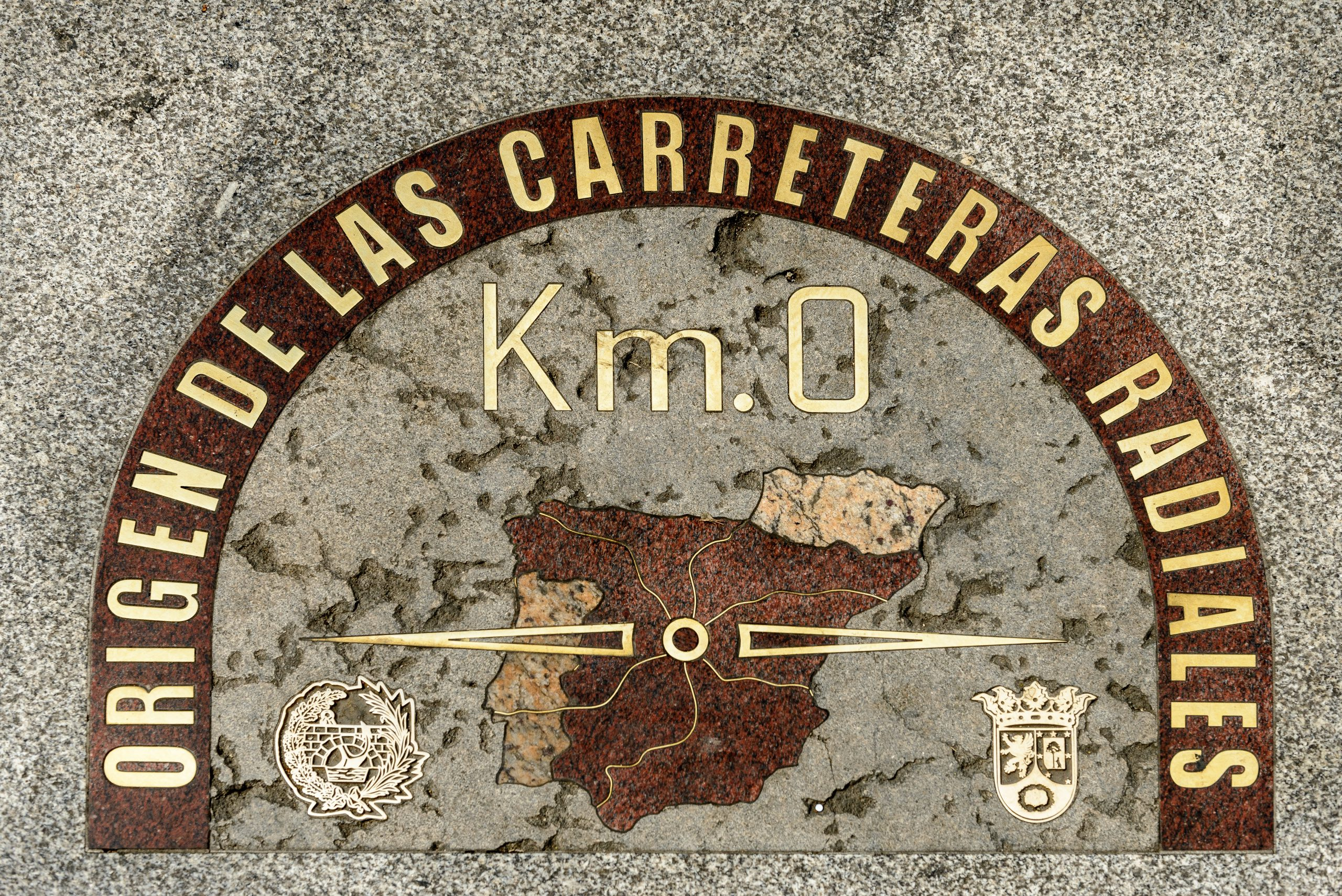 Km 0 in Madrid