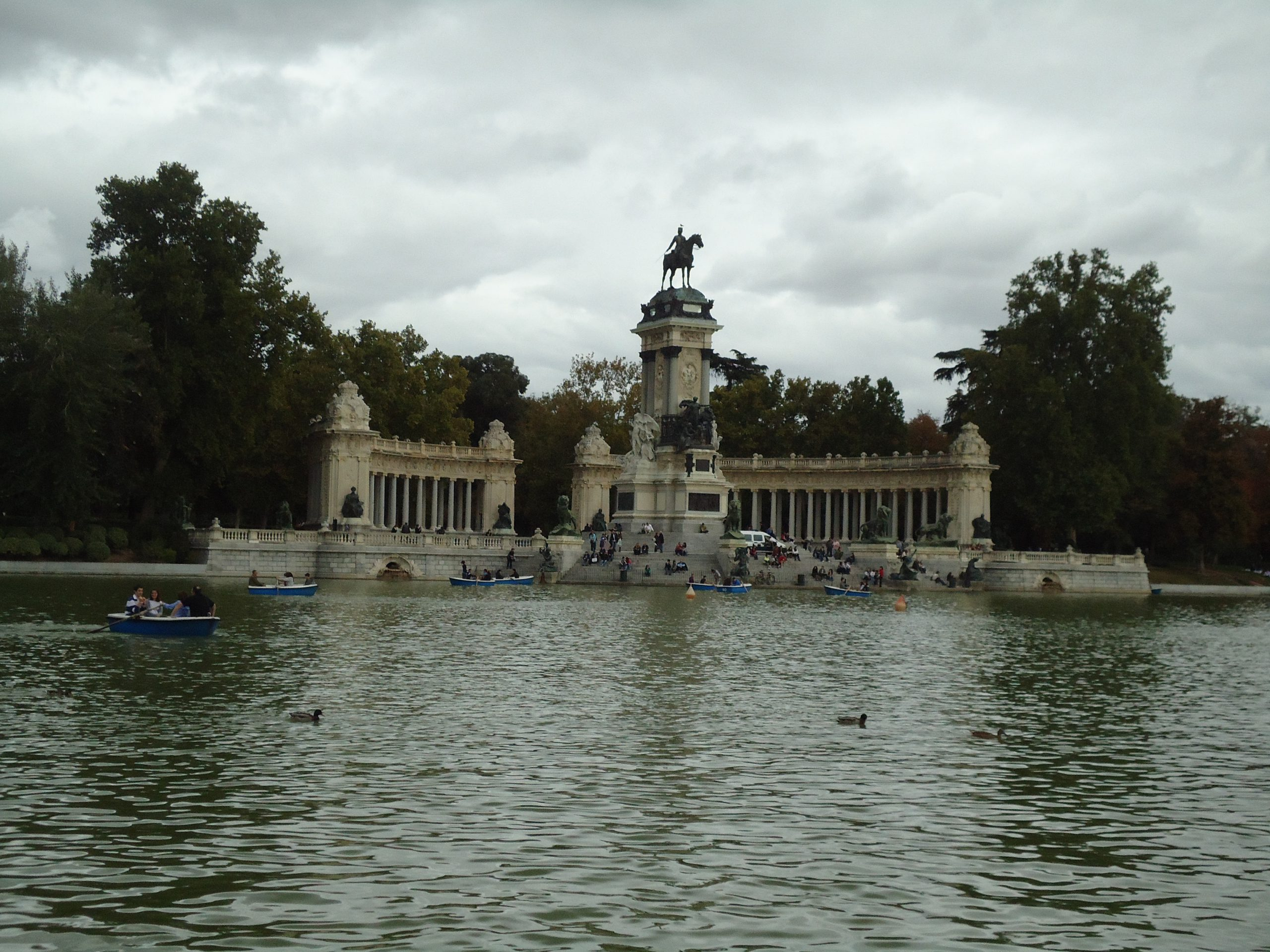 Parque Retiro, Madrid Spain