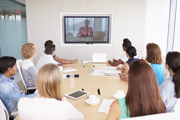 video remote interpreting session