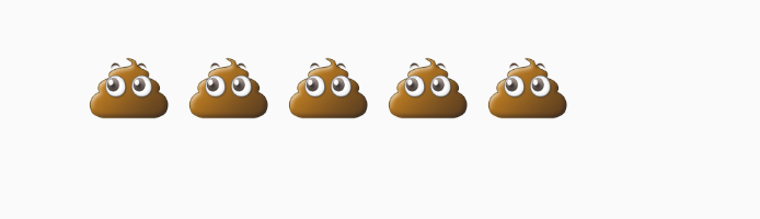 The golden poo emoji