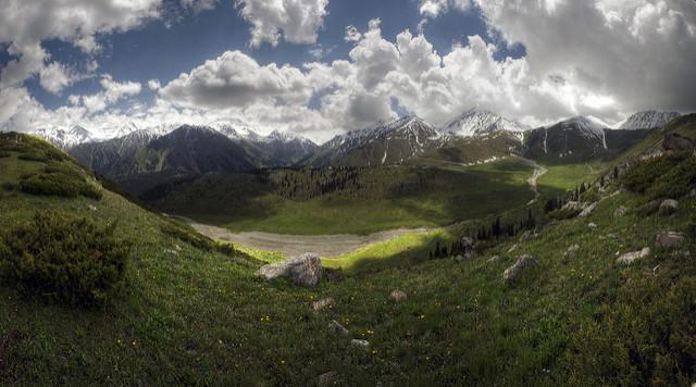 Kazakhstan landscape