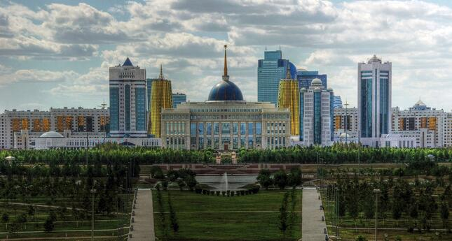 Kazakhstan city skyline