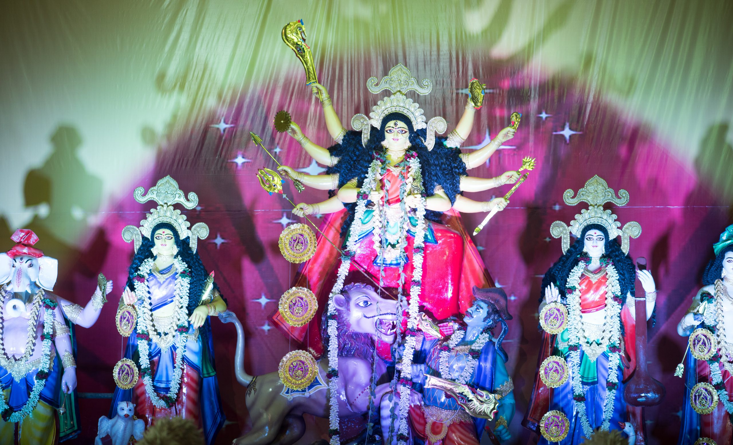 Navratri decorations