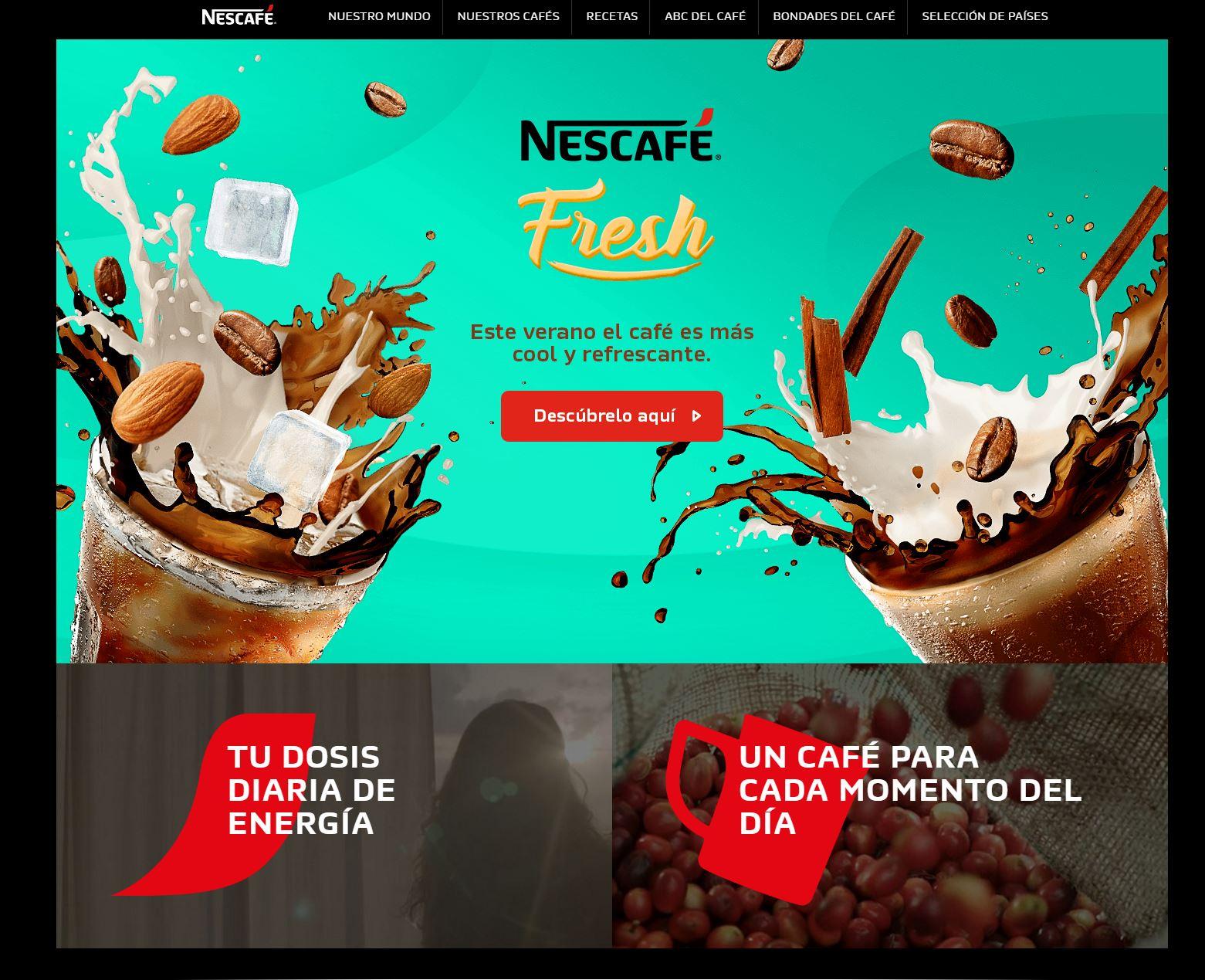 Nescafe Peru