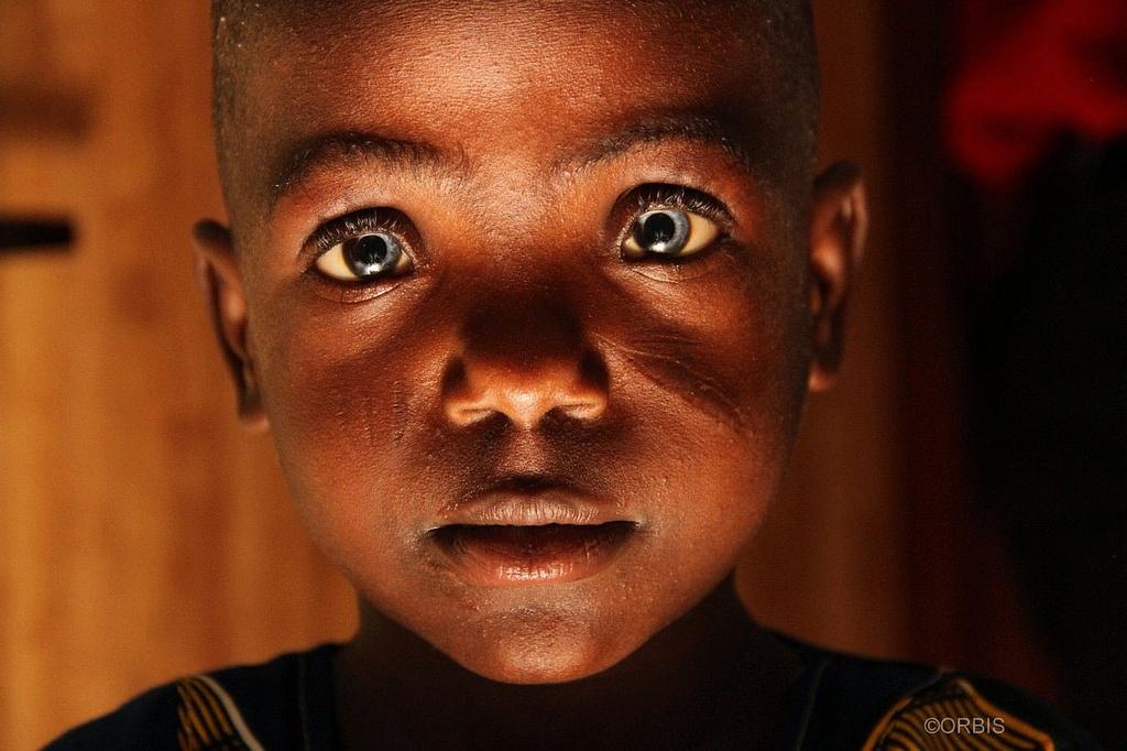 Young Nigerian boy