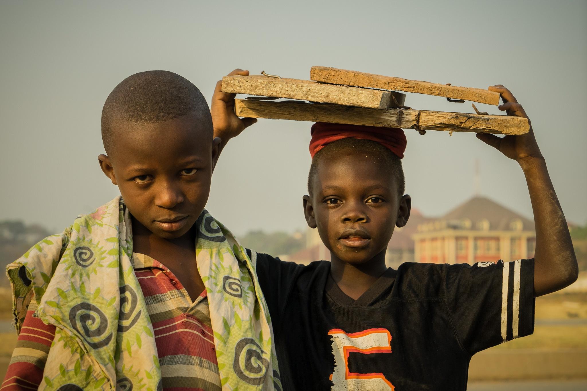 young Nigerian boys