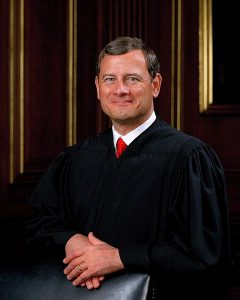 Supreme Court Justice Roberts