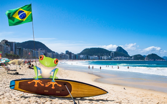 Terpii travels to Brazil