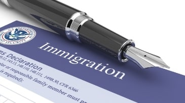 immigration form