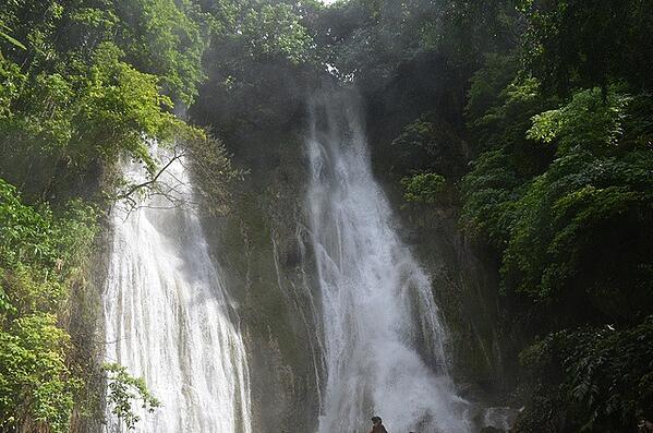 Waterfall in Vanatu