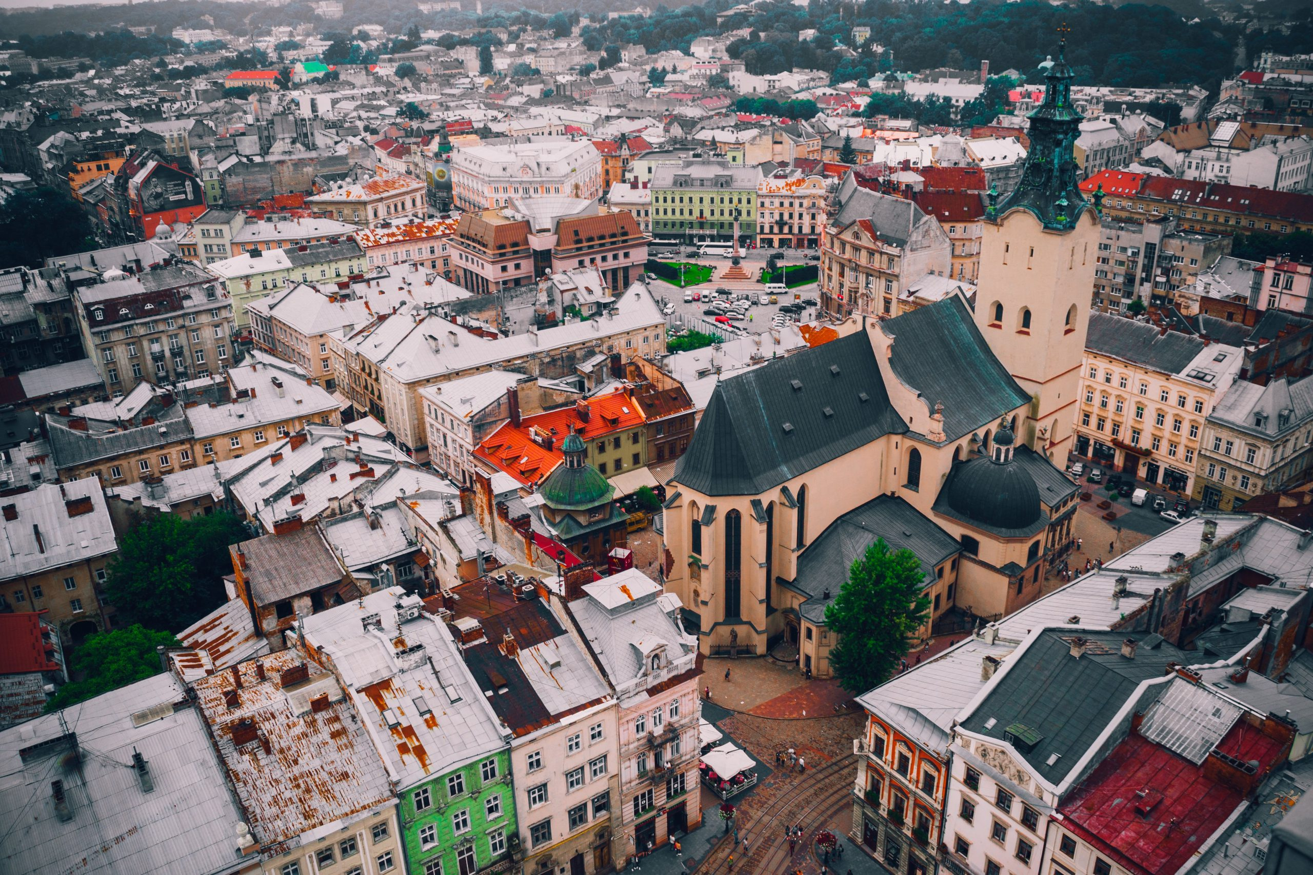 Lviv, Ukraine. Hometown of Ukrainian translator