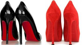Louboutin and Yves Saint-Laurent