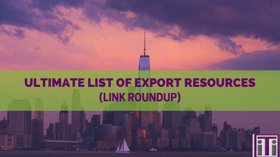 List of export resources
