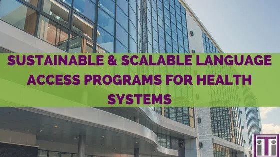 language access for health systems