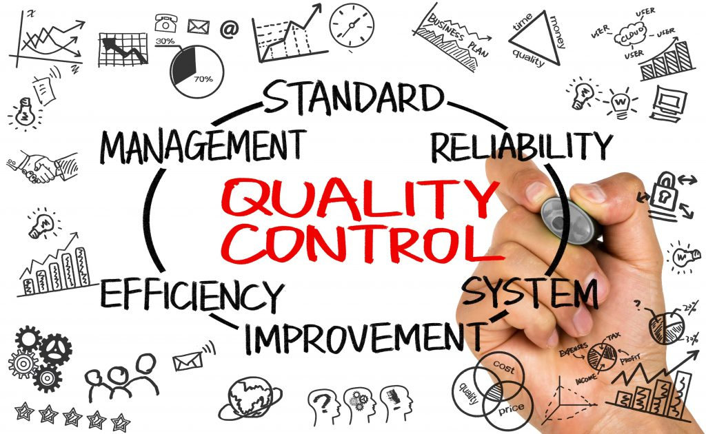 Quality control photo. management, standard, reliability, system improvement, efficiency