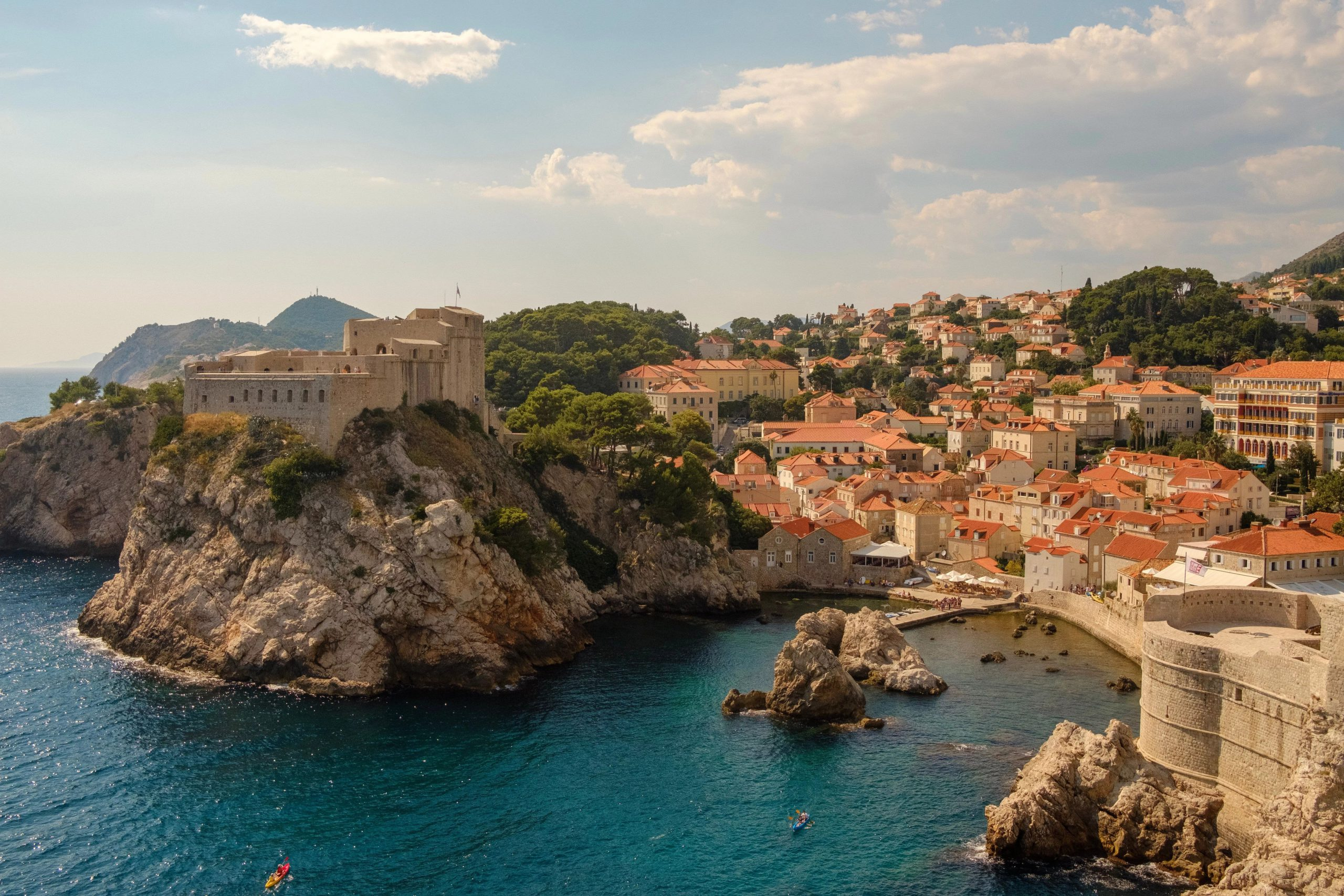 Dubrovnik, Croatia. The site used for Kings Landing in Game of Thrones