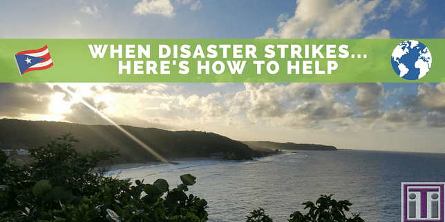 how to help our islands. photo of puerto rican coastline
