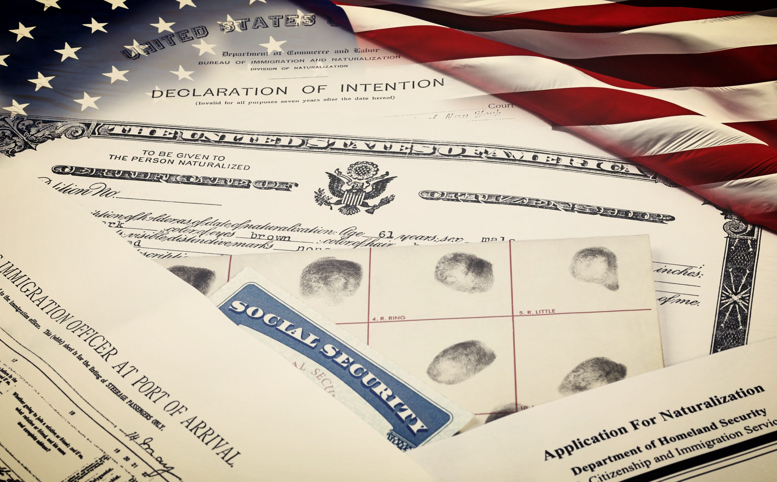 immigration legal documents