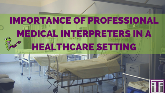 importance of professional medical interpreters in a healthcare setting