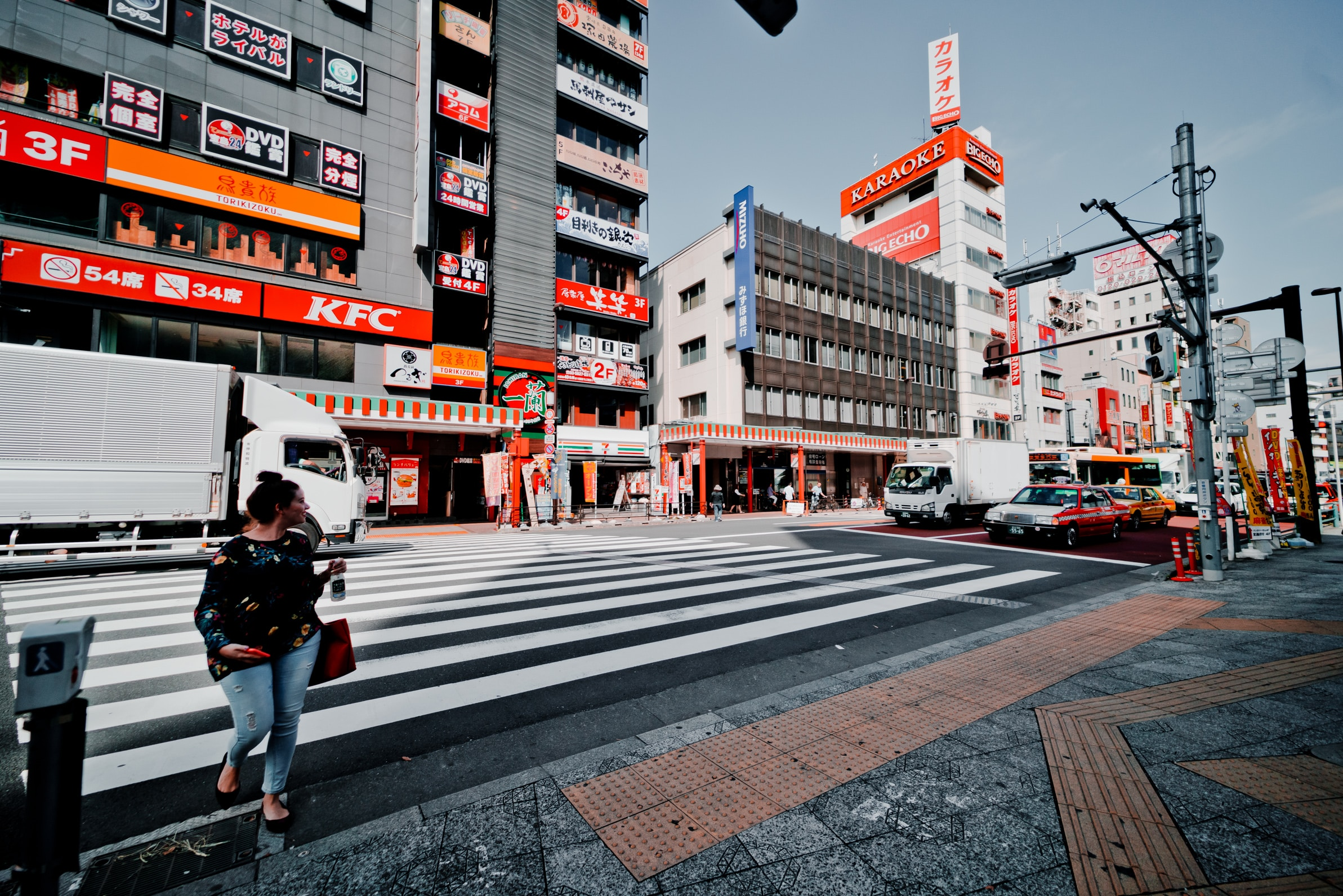 KFC restaurant in Tokyo, Japan