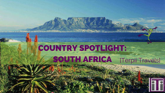 terpii travels south africa, country spotlight