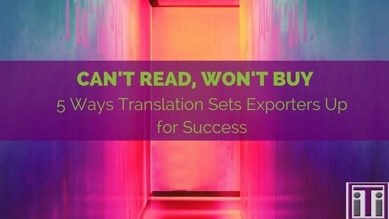 5 ways translation sets exporters up for success