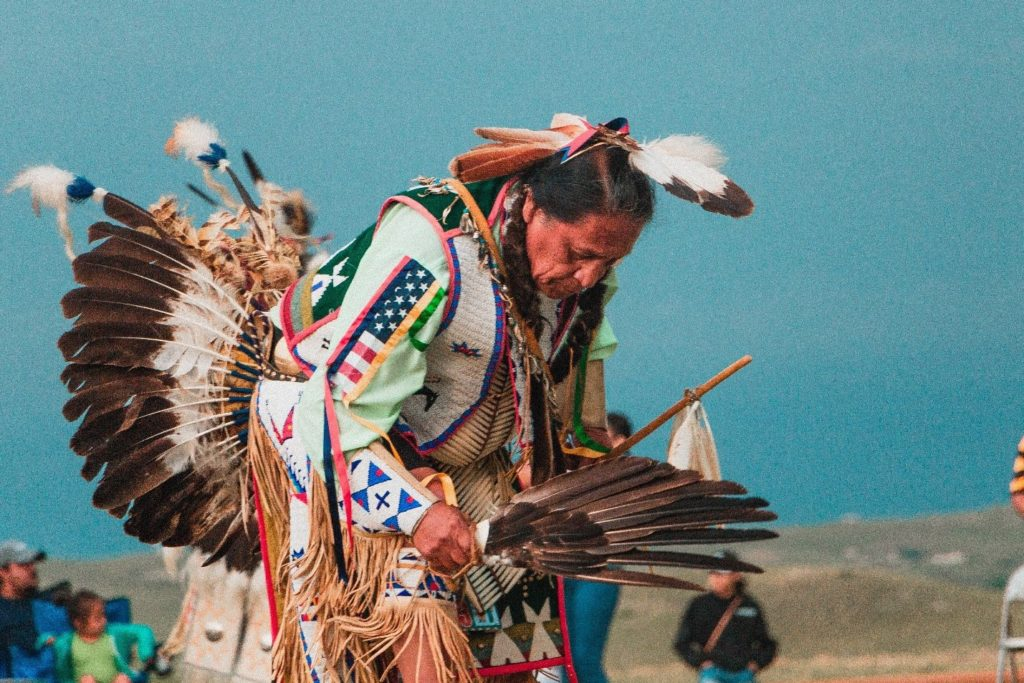 Native American traditional dance