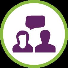 In person interpreter services logo