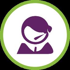 Over the phone interpreter services logo
