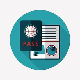 passport illustration