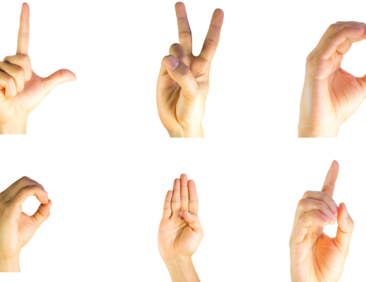 hands showing American Sign Language signs