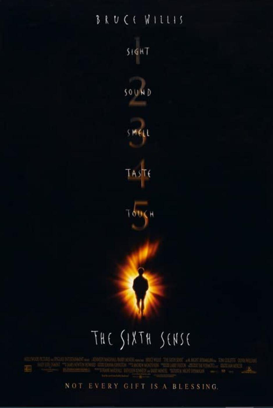 6th sense movie cover